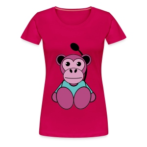 T shirt femme singe - T-shirt Premium Femme