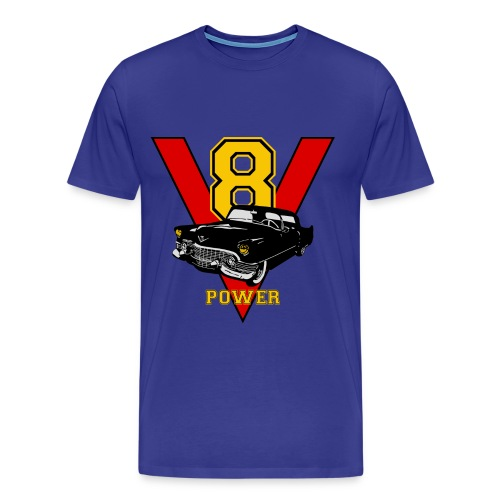 V8 muscle - Men's Premium T-Shirt