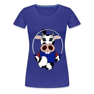 T shirt femme vache - T-shirt Premium Femme