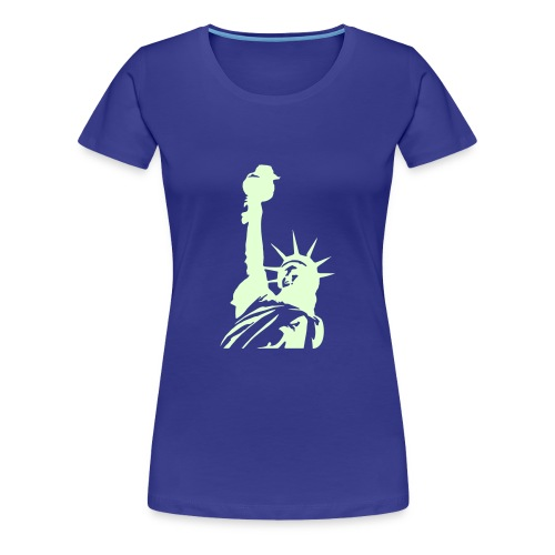 Amerika, Freiheit, Liberty, New York - Frauen Premium T-Shirt