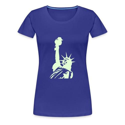 Amerika, Freiheit, Liberty, New York - Frauen Premium T-Shirt