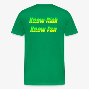 know risk - know fun (men) - Männer Premium T-Shirt