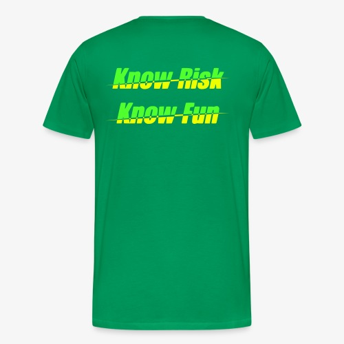 know risk - know fun (men) - Männer Premium T-Shirt