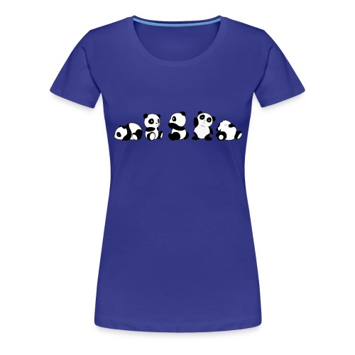 5 panda - Maglietta Premium da donna