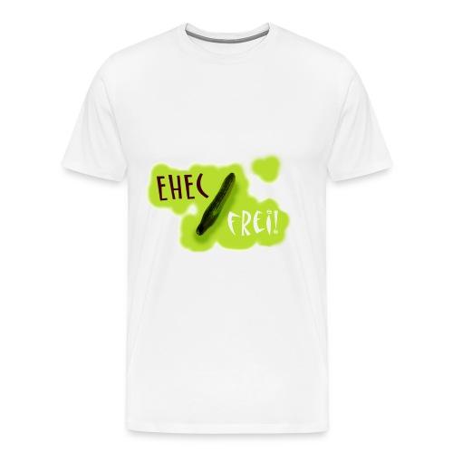 Die Gurke ist EHEC frei - Männer Premium T-Shirt