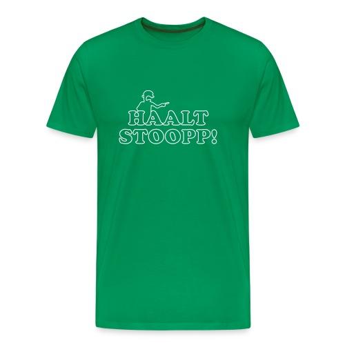 Halt Stopp 3 - Männer Premium T-Shirt