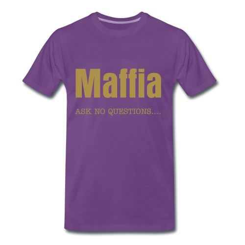 Maffia ask no questions 1 - Mannen Premium T-shirt