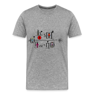 Camisetas ~ Camiseta premium hombre ~ The Big Bang Theory - equation