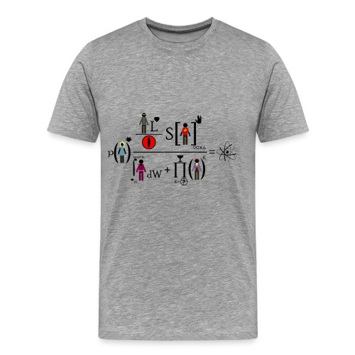The Big Bang Theory - equation - Camiseta premium hombre