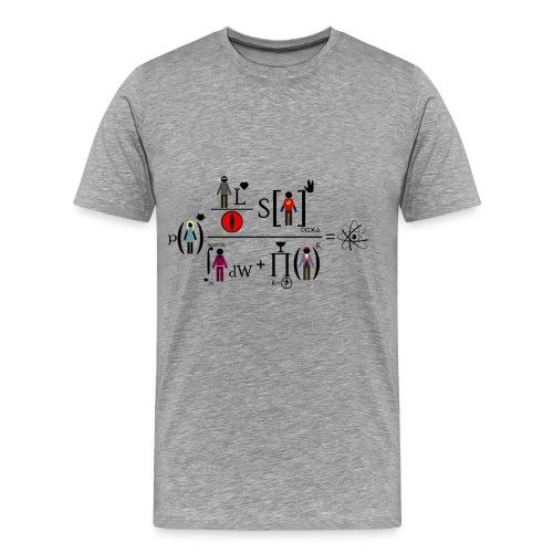 The Big Bang Theory - equation - Camiseta premium hombre