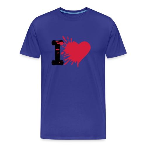 I Love Facebook - T-shirt Premium Homme