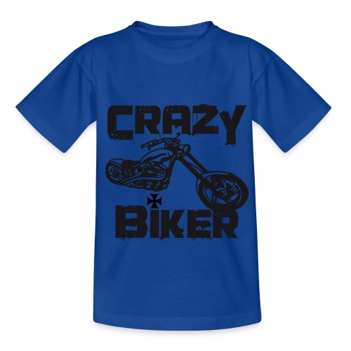 Childs crazy biker tee - Teenage T-Shirt