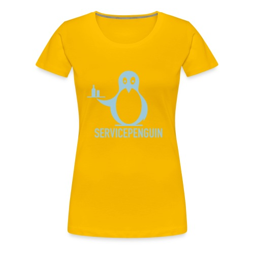 Servicepenguin Girlie-Shirt - Frauen Premium T-Shirt