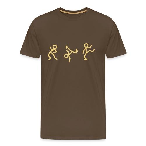 Tanzen / Dancen! (Party Shirt) - Männer Premium T-Shirt