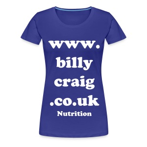 Nutritious Billy - Women's Premium T-Shirt