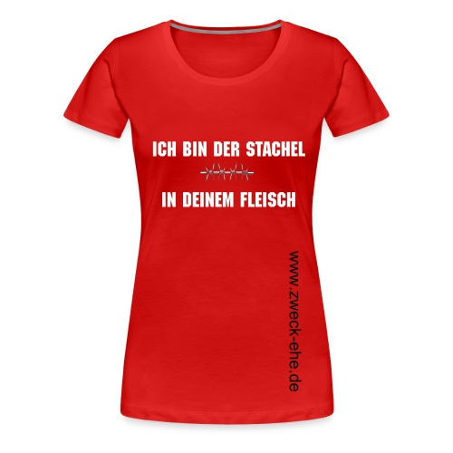 Stachel Female - Frauen Premium T-Shirt
