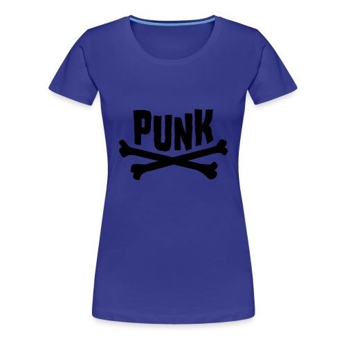 Punk divablau - Frauen Premium T-Shirt