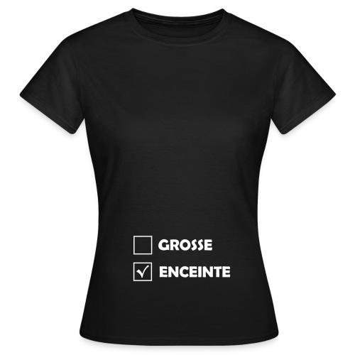 Tshirt début de Grossesse - T-shirt Femme