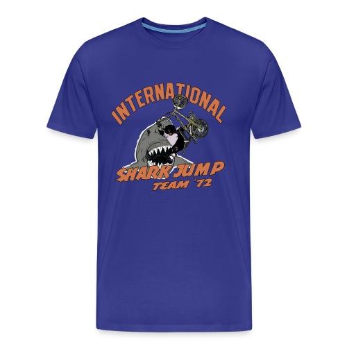 International Shark Jump Team - Men's Premium T-Shirt