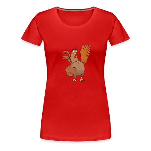 Skishirt - Frauen Premium T-Shirt