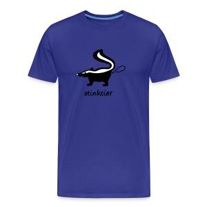 shirt stinktier stinker stinkerchen skunk tier tiershirt tiermotiv niedlich lustig baby - Männer Premium T-Shirt