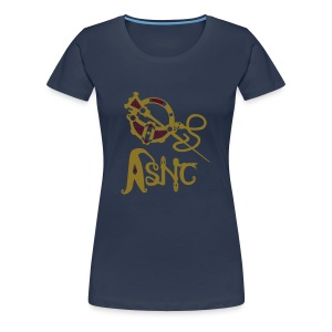 ASNC Society Brooch Logo - Women's - Women's Premium T-Shirt