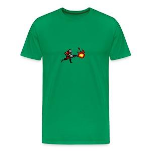 Pyroman  8- bit (8-bit Guerrilla) - Men's Premium T-Shirt