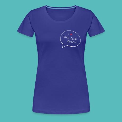 I love Zingst - Frauen Premium T-Shirt