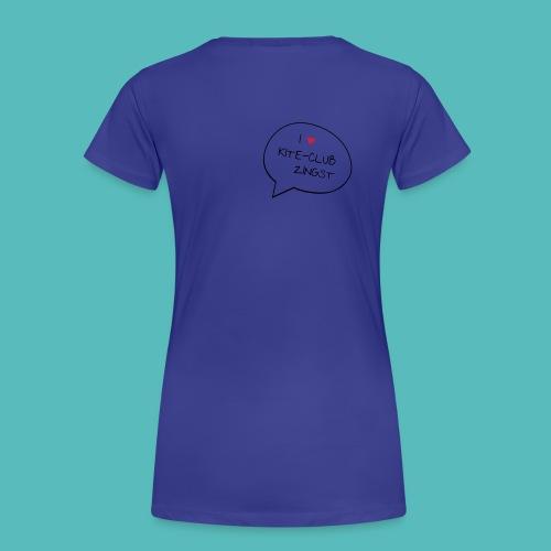 I love Girl´s - Frauen Premium T-Shirt