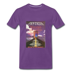 Fantazia One Step Beyond Flyer t-shirt - Men's Premium T-Shirt