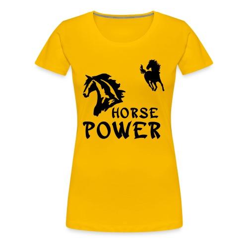Horse Power - Women's Premium T-Shirt