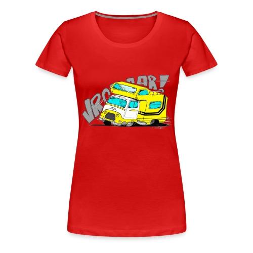 Estafette CC Full Throttle !! - T-shirt Premium Femme