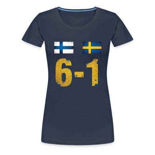 Kuusyks girliepaita - Naisten premium t-paita