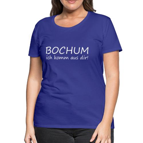 Girlieshirt - BOCHUM  - Frauen Premium T-Shirt