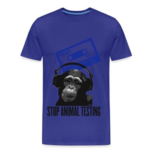 STOP ANIMAL TESTING - Maglietta Premium da uomo