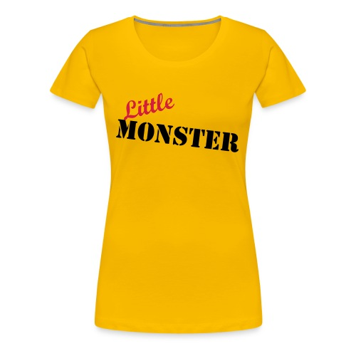 Little Monster - Frauen Premium T-Shirt