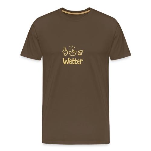 §#&! Wetter - Männer Premium T-Shirt