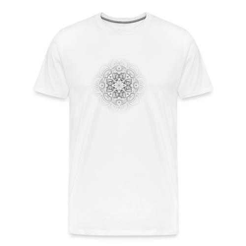 Full Circle Fade out Grey - Men's Premium T-Shirt