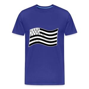 t-shirt drapeau Breton - T-shirt Premium Homme