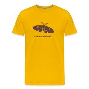 Männer Shirt Motte Nachtschwärmer braun Tiershirt Shirt Tiermotiv - Männer Premium T-Shirt