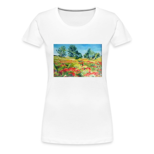 Mohn - Frauen Premium T-Shirt