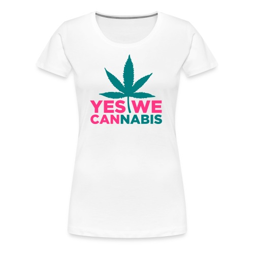 Yes we can... - T-shirt Premium Femme
