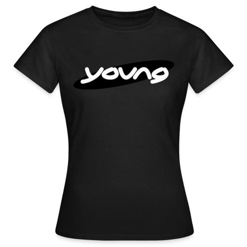 young Girlshirt olive - Frauen T-Shirt