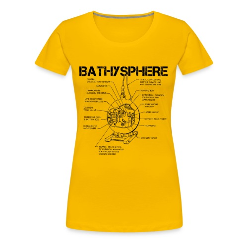 Bathysphere - Women's Premium T-Shirt