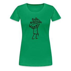 BARNARBETARE T-shirts - Premium-T-shirt dam