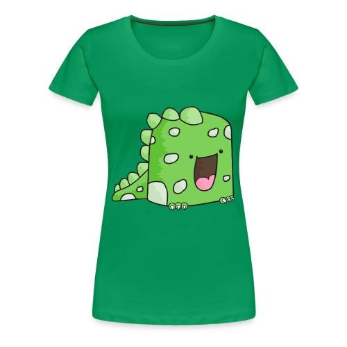 grön sötis - Premium-T-shirt dam