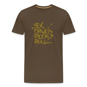 sex,drugs and rock´n´roll - Camiseta premium hombre