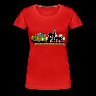 Tee shirts ~ T-shirt Premium Femme ~ Deuche Fire