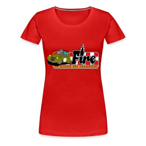 Deuche Fire - T-shirt Premium Femme