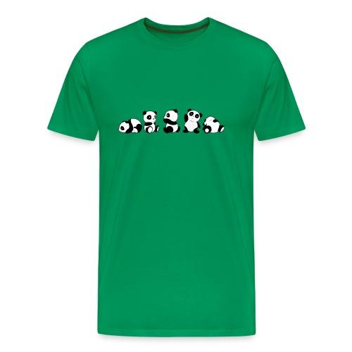 5 panda - Maglietta Premium da uomo